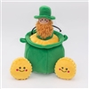 Zippy Paws St Patricks Burrow Pot of Gold Dog Toy