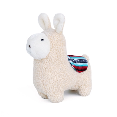 Zippy Paws Storybook Snugglerez Dog Toy-Liam the Llama