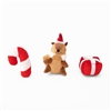 Zippy Paws Holiday Miniz 3-Pack Festive Friends
