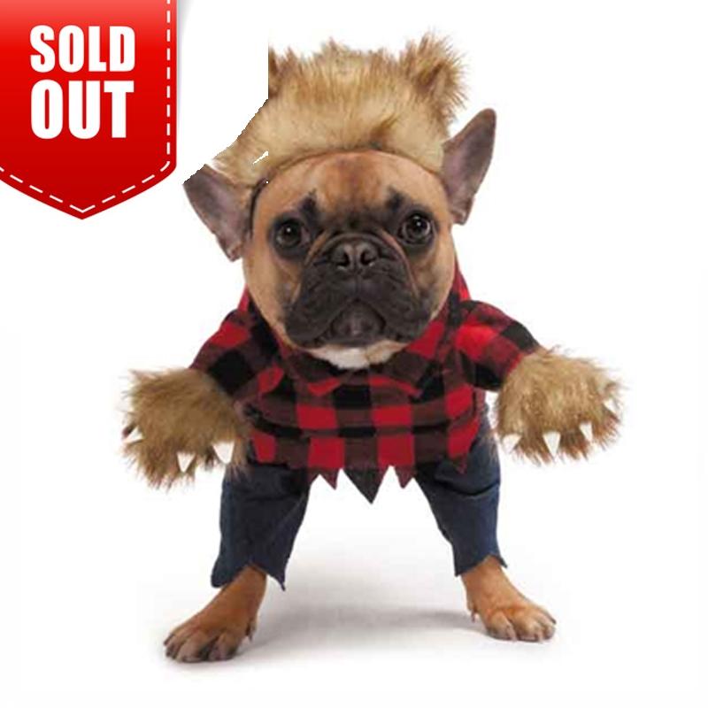 Zack Zoey Werewolf Dog Costume