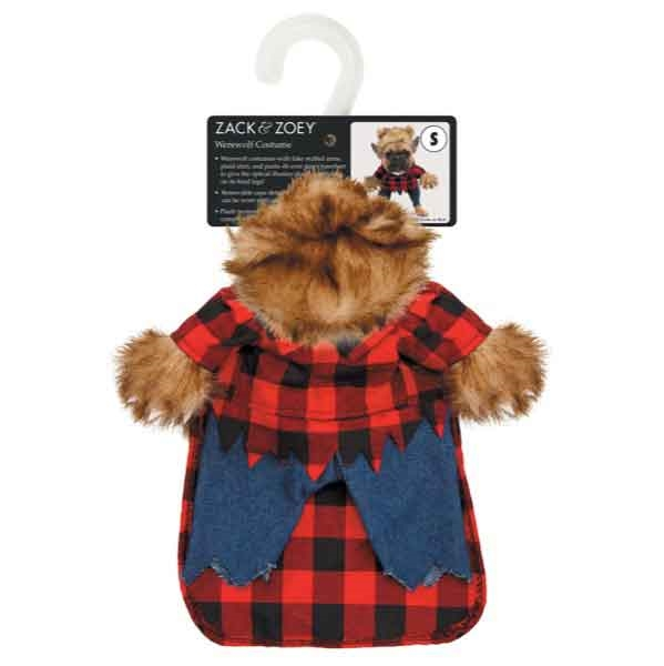 sc 1 st  Little Paws Pet Boutique & Zack u0026 Zoey Werewolf Dog Costume