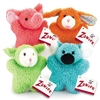 Zanies Cuddly Berber Babies Dog Toy