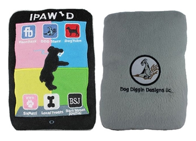 iPaw'd Dog Toy