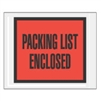 "5.5"" x 10""  Full Face Packing List Orange"