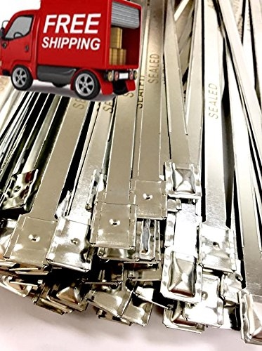Lot Of 100 Metal Truck And Trailer Security Seals