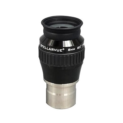 "STELLARVUE 8MM ULTRA WIDE ANGLE 82deg 1.25"" 7-ELEMENT EYEPIECE"