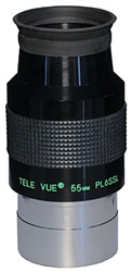 "TELEVUE PLOSSL, 2"", 4-ELEMENT, 55MM, 50 DEGREES"