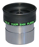 "TELEVUE PLOSSL, 1.25"", 4-ELEMENT, 8MM, 50 DEGREES"