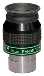 "TELEVUE PANOPTIC, 1.25"", 6-ELEMENT, 19MM, 68 DEGREES"