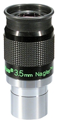 "TELEVUE NAGLER TYPE 6, 1.25"", 7-ELEMENT, 3.5MM, 82 DEGREES"