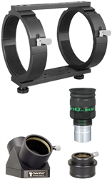 Tele Vue NP127is   accessory kit--rings, diagonal,adapter, eyepiece