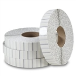 "1"" White Perforated Tabs TB-1WHP (5000/roll) for Staplex Tabbers"