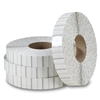 "1"" White Non-Perforated Tabs TB-1WH (5000/roll) for Staplex Tabbers"