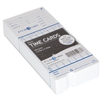 Pyramid Attendance Cards for Models 2600, 6200, & 6400 (100/Box)