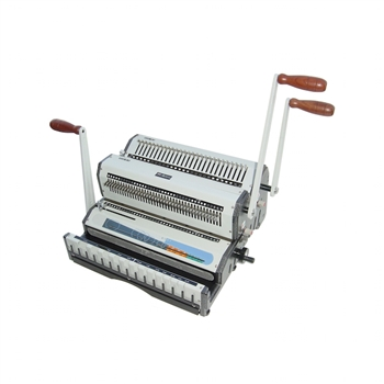 Akiles DuoMac-C31 Plastic Comb and 3:1 Wire Binding Machine