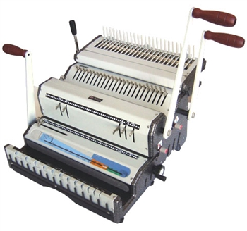 Akiles DuoMac 541 5:1 and 4:1 Coil Binding Machine