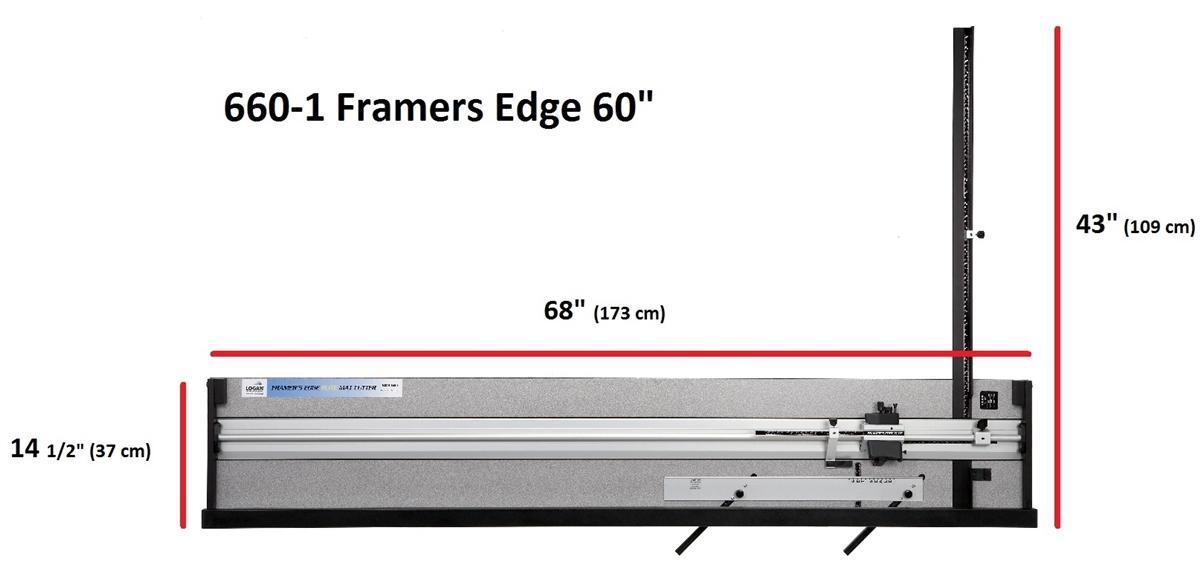 Logan 660 1 Framer S Edge Elite 60 Quot Mat Cutter Factory
