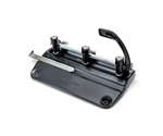 "Master 5340B Adjustable 13/32"" 3-Hole Punch"