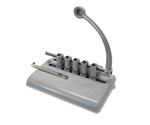 "Martin Yale Master 525M Adjustable 11/32"" 5-Hole Medical Punch"