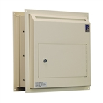 Protex WDS-311-DD Through-Wall Dual Door Drop Box
