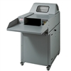 "Intimus 14.95 1/4"" x 2"" Cross Cut Industrial Shredder"