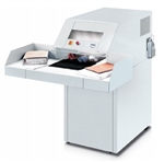 "MBM Destroyit 4108 (1/4"" x 2"") Cross Cut High Capacity Paper Shredder"