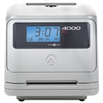Pyramid 4000 Pro Punch Card Calculating Time Recorder