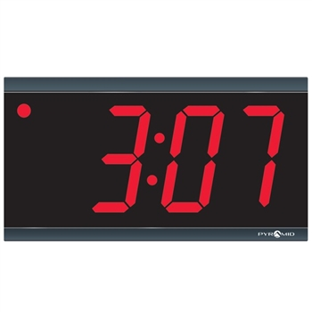 "Pyramid 4"", 4-Digit Digital LED Clock"