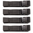 Straps and Buckles, insulation fastening systems