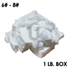 1 pound box of ceramic fiber