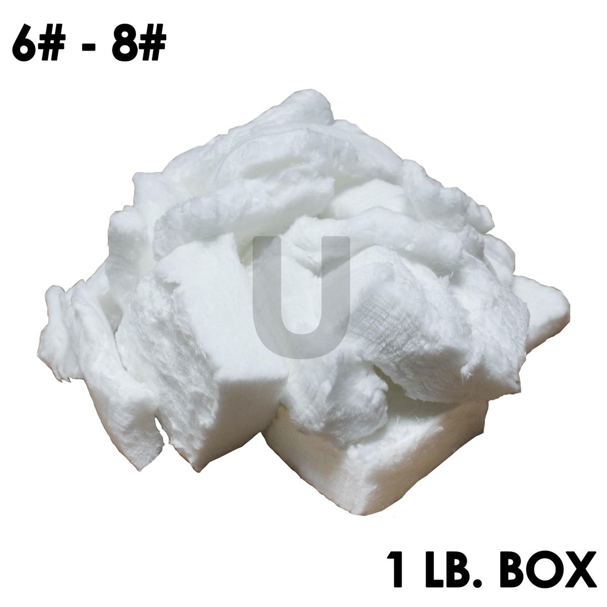 Ceramic Wool 1//2 Pound Ceramic Fiber Bulk 2300F Bulk Fill Material