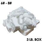 3 pound box of ceramic fiber