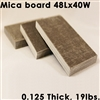 0.125 in Thick Mica Board 48Lx40W