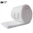 Ceramic Fiber, 8# HZ 1in, 6in x 6in - FREE SAMPLE