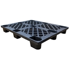 "Nestable Plastic Pallet 48""x40"" (refurbished)"