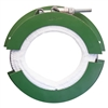 Plastic blowback prevention shield, Heater band, wire, and insulation protection.