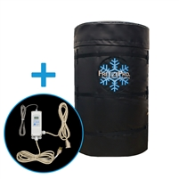 Frost protection drum and controller combo
