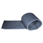 "Black Foam Rubber 1/2"" x 3' x 4', 12 sq. ft. Flat Sheet"