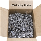 Stainless Steel Lacing Anchors (Hooks) accessory for removable isolation blanket for valves.