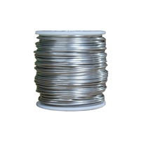 1-pound spool of Type 302/304 Stainless Steel Safety Lock Wire, accessory for removable isolation blanket for valves.