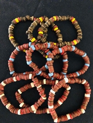 Stretch Beaded Coco Bracelet Assorted Colors