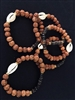 Stretch Beaded CoCo/Cowry Bracelet