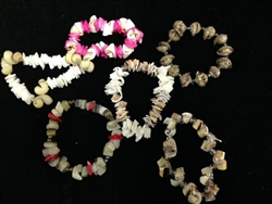 Assorted Shell Stretch Bracelets