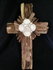 Driftwood Cross With Shells