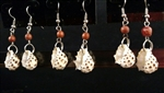 Drupa Shell  Earrings