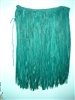 Green Raffia Hula Skirt  Teen 28X26""