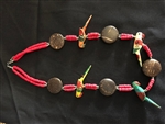 wooden bead Necklaces 22 inch