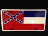 Mississippi State Flag License Plate