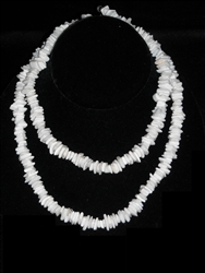 White Chip Necklace