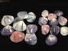 Purple Clam Halves Polished Small